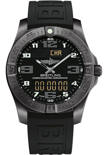 Breitling Watches - Aerospace Evo Diver Pro III Strap - Folding Buckle - Style No: V79363101B1S1