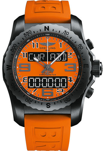 Breitling Watches - Cockpit B50 Titanium Case - Diver Pro III Strap - Style No: VB50106A1O1S1
