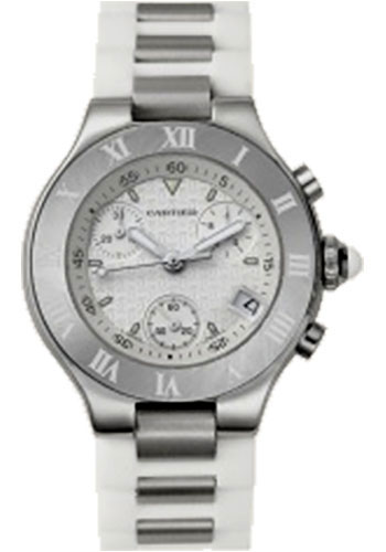 Cartier Watches - 21 32mm - Chronoscaph - Style No: W10197U2