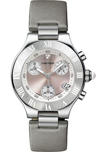 Cartier Watches - 21 36mm - Chronoscaph - Style No: W1020012