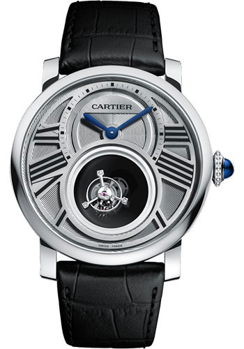 Cartier Watches - Rotonde de Cartier Mysterious Double Tourbillon - Style No: W1556210
