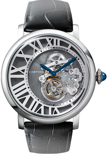 Cartier Watches - Rotonde de Cartier Reversed Tourbillon - Style No: W1556214