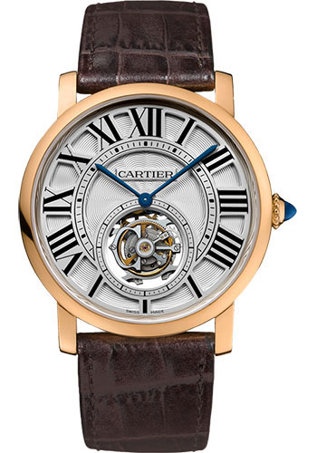 Cartier Watches - Rotonde de Cartier Flying Tourbillon - Style No: W1556215