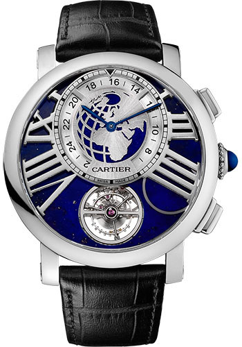 Cartier Watches - Rotonde de Cartier Earth and Moon - Style No: W1556222