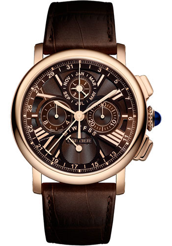 Cartier Watches - Rotonde de Cartier Perpetual Calendar Chronograph - Style No: W1556225