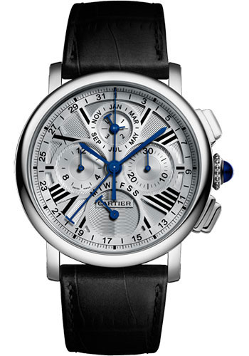 Cartier Watches - Rotonde de Cartier Perpetual Calendar Chronograph - Style No: W1556226