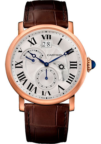 Cartier Watches - Rotonde de Cartier Large Date Retrograde Second Time Zone - Style No: W1556240