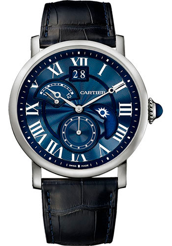 Cartier Watches - Rotonde de Cartier Second Time Zone Day Night - Style No: W1556241