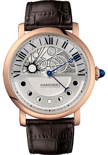 Cartier Watches - Rotonde de Cartier Day Night Retrograde Moon Phases - Style No: W1556243