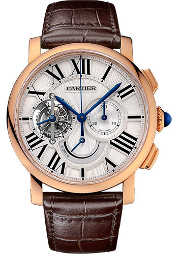 Cartier Watches - Rotonde de Cartier Tourbillon Chronograph 8-Day Power Reserve - Style No: W1556245