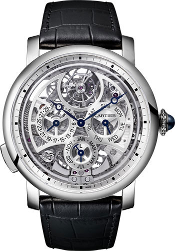 Cartier Watches - Rotonde de Cartier Grande Complication Skeleton - Style No: W1556251