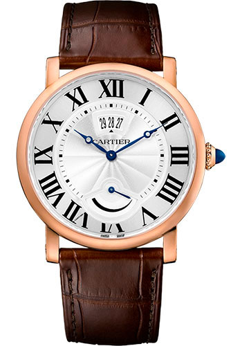 Cartier Watches - Rotonde de Cartier Calendar Aperture and Power Reserve - Style No: W1556252