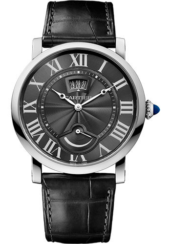 Cartier Watches - Rotonde de Cartier Calendar Aperture and Power Reserve - Style No: W1556253