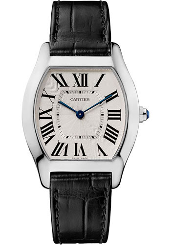 Cartier Watches - Tortue Medium - White Gold - Style No: W1556363