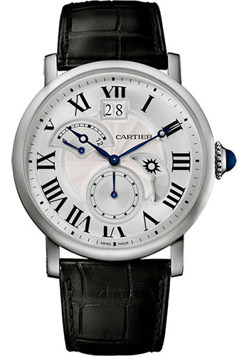 Cartier Watches - Rotonde de Cartier Large Date Second Time-Zone - Style No: W1556368