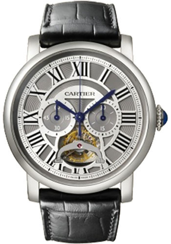 Cartier Watches - Rotonde de Cartier Tourbillon - Style No: W1580007