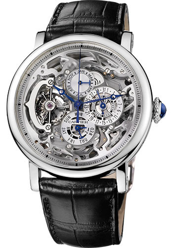 Cartier Watches - Rotonde de Cartier Grande Complication Skeleton - Style No: W1580017