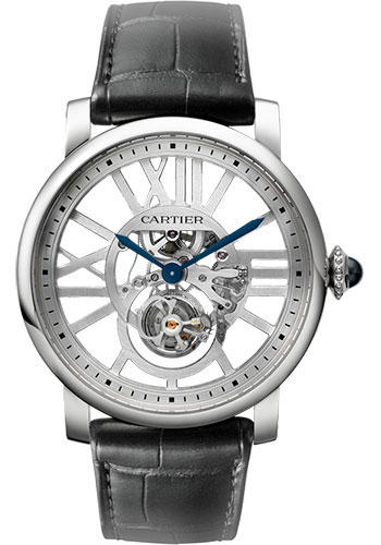 Cartier Watches - Rotonde de Cartier Skeleton Flying Tourbillon - Style No: W1580031