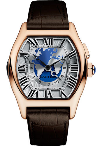Cartier Watches - Tortue XXL Multiple Time Zones - Style No: W1580049