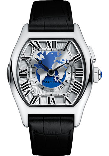 Cartier Watches - Tortue XXL Multiple Time Zones - Style No: W1580050