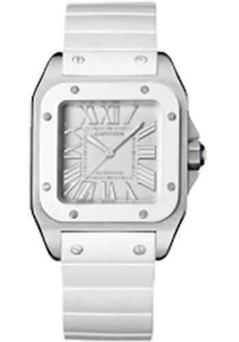 Cartier Watches - Santos 100 Medium - Style No: W20122U2