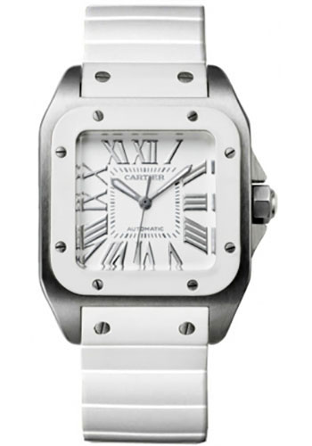 Cartier Watches - Santos 100 Medium - Style No: W20129U2