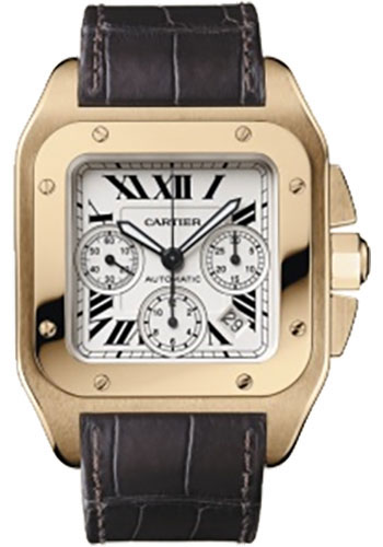 Cartier Watches - Santos 100 Extra Large - Style No: W20131Y1