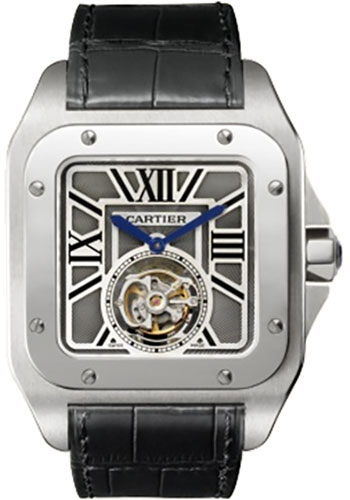Cartier Watches - Santos 100 Extra Large - Style No: W2020017