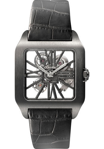 Cartier Watches - Santos Dumont Skeleton - Style No: W2020052