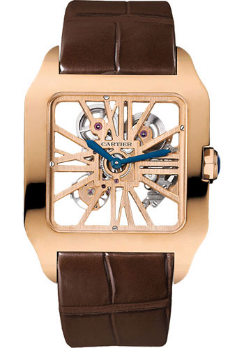 Cartier Watches - Santos Dumont Skeleton - Style No: W2020057