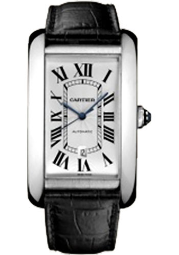 Cartier Watches - Tank Americaine Extra Large - White Gold - Style No: W2609956