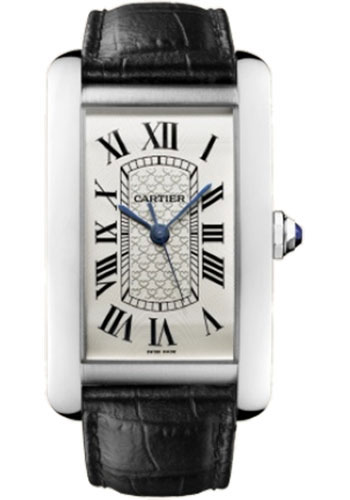 Cartier Watches - Tank Americaine Extra Large - White Gold - Style No: W2620004