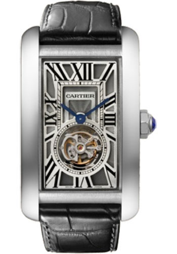 Cartier Watches - Tank Americaine Extra Large - White Gold - Style No: W2620007