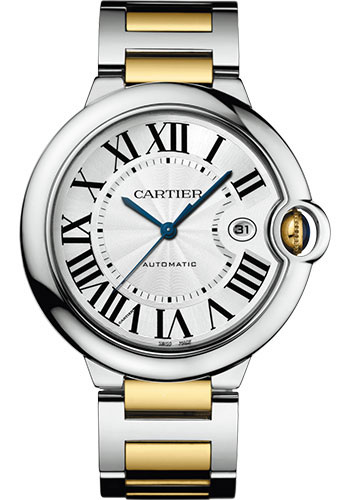 Cartier Watches - Ballon Bleu 42mm - Steel and Yellow Gold - Style No: W2BB0022
