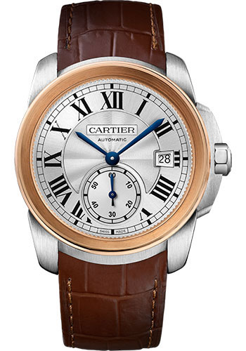 Cartier Watches - Calibre de Cartier 38mm - Automatic - Steel and Gold - Style No: W2CA0002