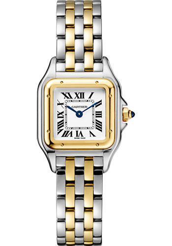 Cartier Watches - Panthere de Cartier Small - Steel and Yellow Gold - Style No: W2PN0006