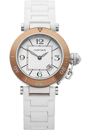 Cartier Watches - Pasha Seatimer Lady 33 mm - Style No: W3140001