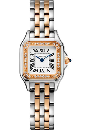 Cartier Watches - Panthere de Cartier Small - Steel and Pink Gold - Style No: W3PN0006