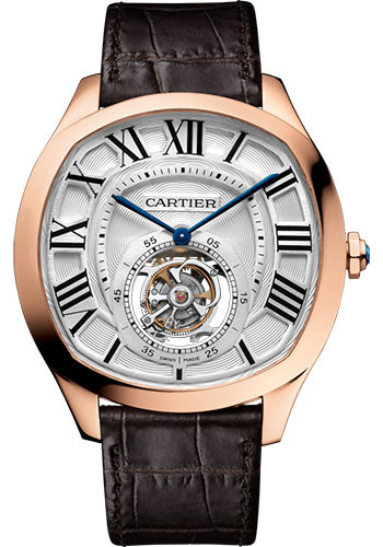 Cartier Watches - Drive de Cartier Flying Tourbillon - Style No: W4100013