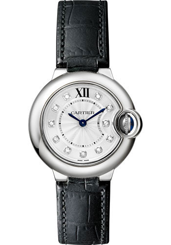 Cartier Watches - Ballon Bleu 28mm - Stainless Steel - Style No: W4BB0008