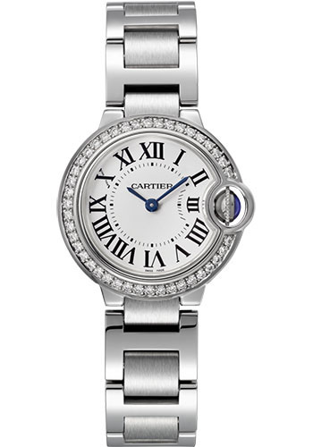 Cartier Watches - Ballon Bleu 28mm - Stainless Steel - Style No: W4BB0015