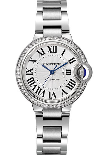 Cartier Watches - Ballon Bleu 33mm - Stainless Steel - Style No: W4BB0016