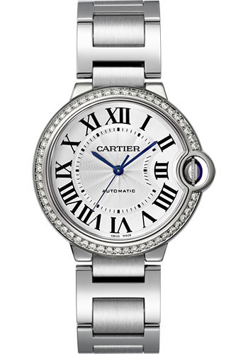 Cartier Watches - Ballon Bleu 36mm - Stainless Steel - Style No: W4BB0017