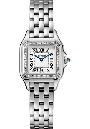 Cartier Watches - Panthere de Cartier Small - Stainless Steel - Style No: W4PN0007