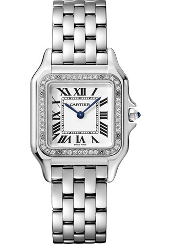 Cartier Watches - Panthere de Cartier Medium - Stainless Steel - Style No: W4PN0008