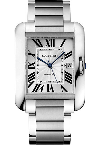 Cartier Watches - Tank Anglaise Stainless Steel - Style No: W5310008