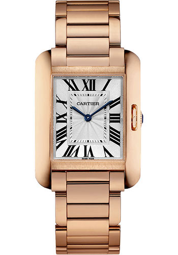 Cartier Watches - Tank Anglaise Pink Gold - Style No: W5310041