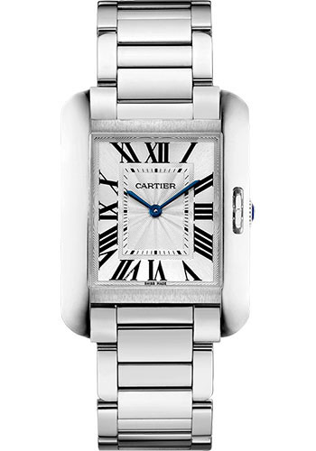Cartier Watches - Tank Anglaise Stainless Steel - Style No: W5310044