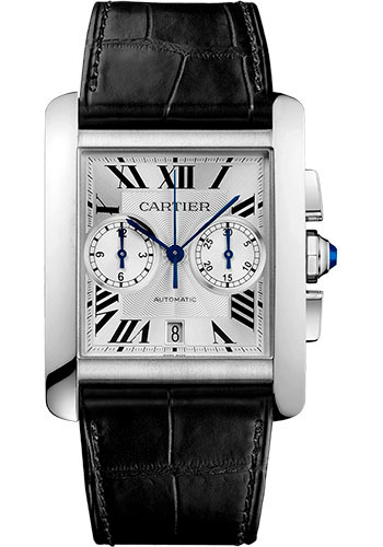 Cartier Watches - Tank MC Stainless Steel - Style No: W5330007