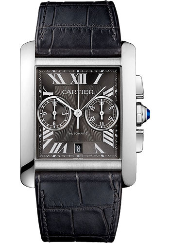 Cartier Watches - Tank MC Stainless Steel - Style No: W5330008